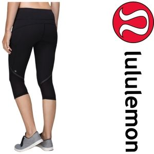 Lululemon Hop To It Crop *Full-On Luxtreme